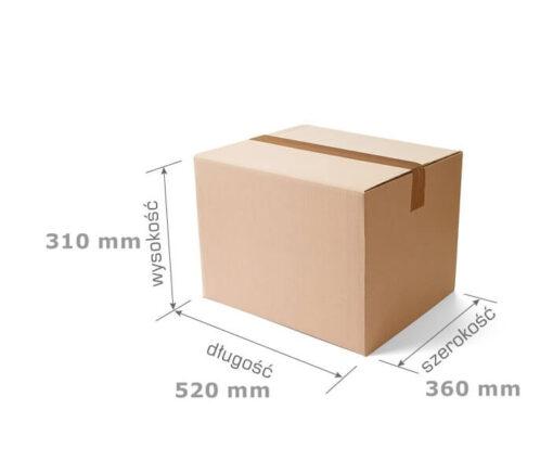 Pudełko klapowe, 520x360x310