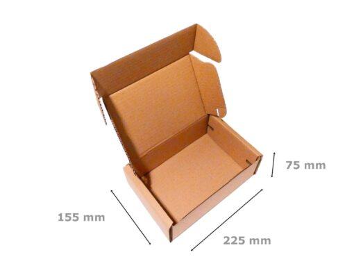 Opakowanie fasonowe wymiary 225x155x75