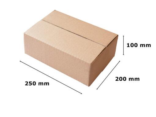 Pudełko klapowe 250x200x100
