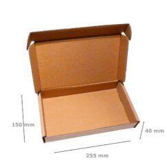 Pudełka fasonowe wymiary 255x150x40