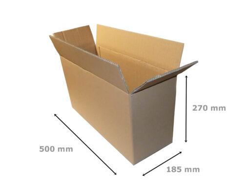 Pudełko klapowe 500x185x270 BC 5W