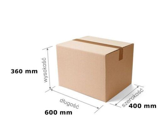 Pudełko klapowe 600x400x360