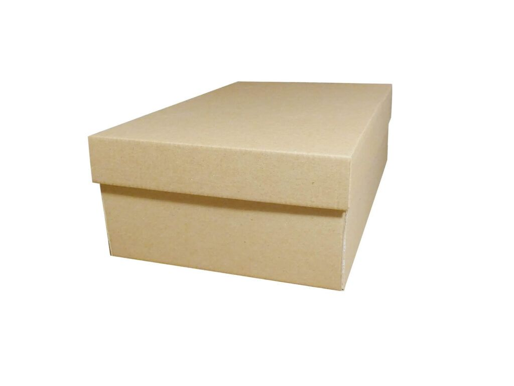 Pudełko fasonowe szare niekaszerowane