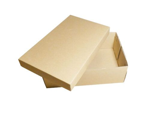 Szare szewskie pudełko niekaszerowane