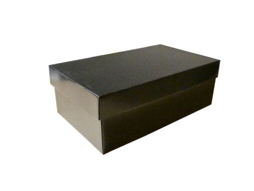 Pudełko na buty czarne
