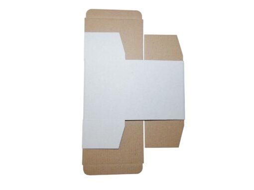 Pudełko fasonowe rozłożone
