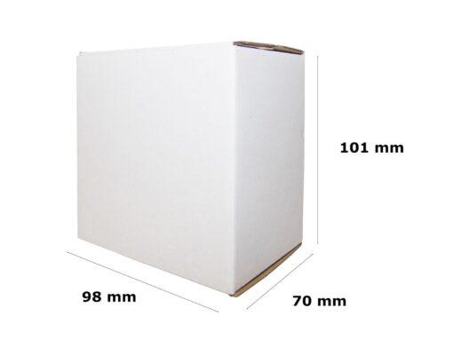 Pudełko fasonowe wymiary 98x70x101