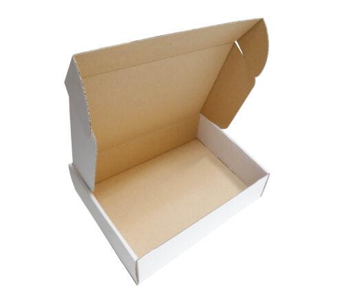 Pudełko fasonowe białe 250 x 200 x 68