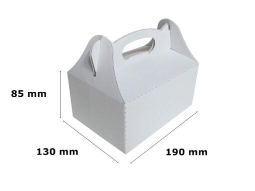 Pudełko na ciasto weselne 190 x 130 x 85