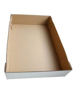 Pudełko Tacka na ciastka białe